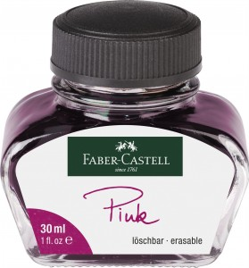 FABER-CASTELL Atrament tusz do pióra 30 ml RÓŻOWY