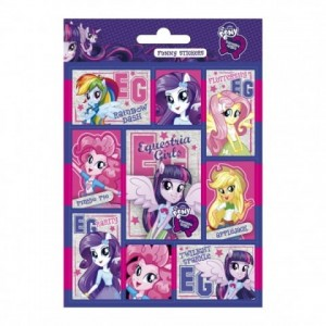 NAKLEJKI OBUSTRONNE My Little Pony Equestria Girls