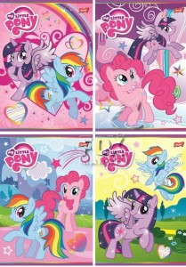 Zeszyt A5 16 kartek 3 linia MY LITTLE PONY 0629